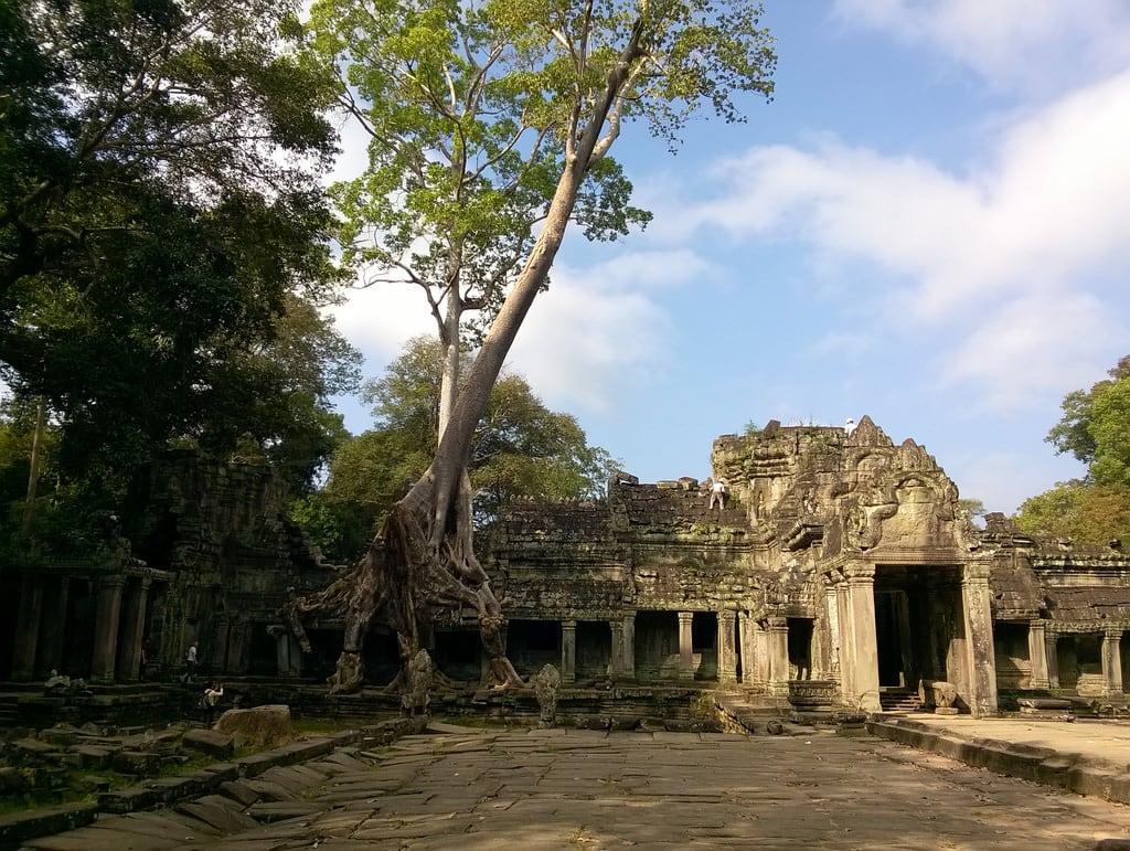 صورة Preah Khan Temple. preah khan agkor cambodia temple architecture stone ancient khmer