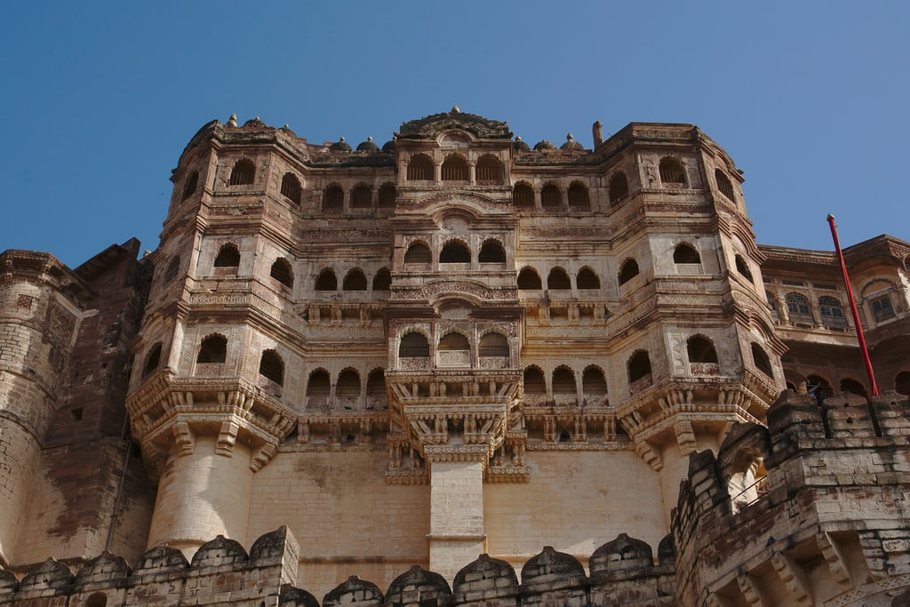 Изображение Mehrangarh. asia asie citypalace inde india jodhpur maharaja maharani rajasthan palace palais architecture forteresse fortress mehrangarh