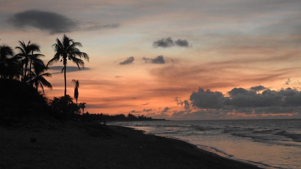 Image of Playa Santa María near Alamar. cuba havana