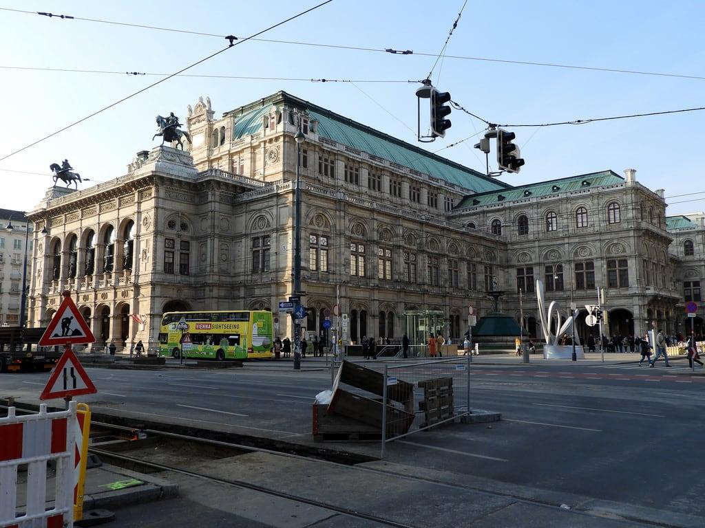 Obraz Vienna State Opera. vienna wien theatre