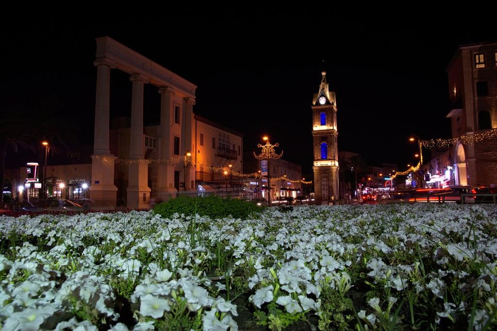 Jaffa Clock Tower की छवि. telaviv jaffa clock tower