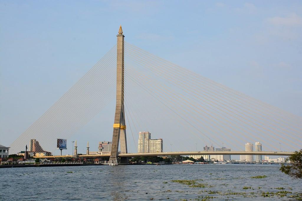 Image of Rama VIII Bridge. arps paularps thailand siam travel reizen 2018 asia nikond7100 bangkok chiangmai chiangrai wat temple azië temples nature natuur culture cultuur backpack