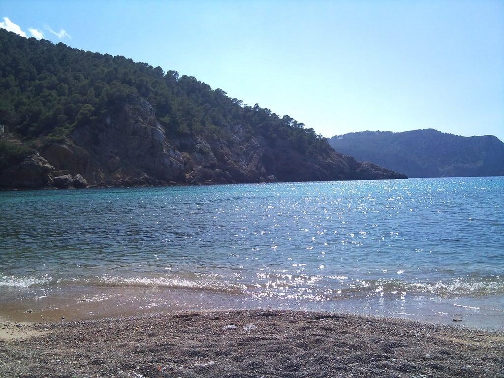 Imagem de Cala Benirràs. sea beach ibiza benirras 2010