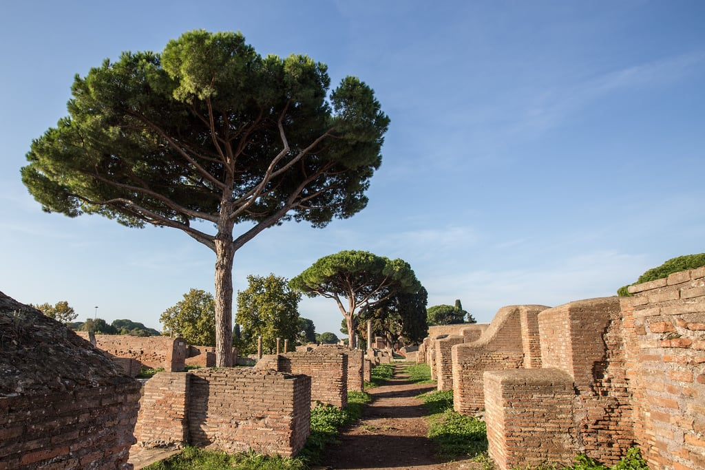 Imagine de Ostia Antica. roma lazio italy it