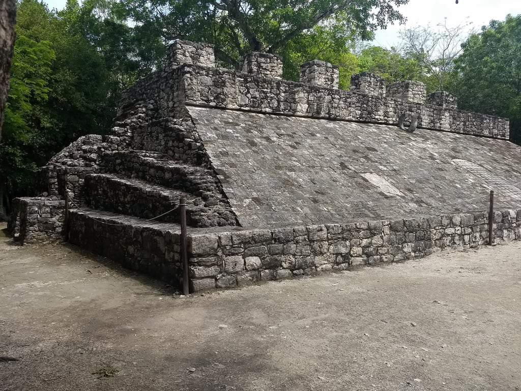 Image of Cobá. mexico yucatan vacation holidays belatedchristmas advanceparole coba