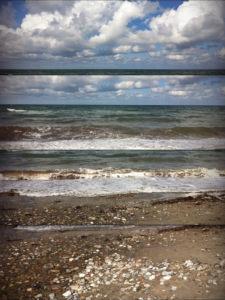 Image of Liseleje Strand. beach strand 4 iphone liseleje hipstermatic fotomecha