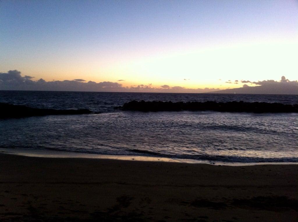 Playa de Abama görüntü.