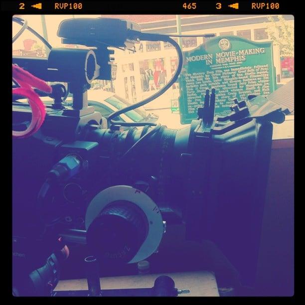 Bilde av Modern Movie Making in Memphis. square nashville squareformat iphoneography instagramapp uploaded:by=instagram foursquare:venue=4b75792ff964a520810e2ee3