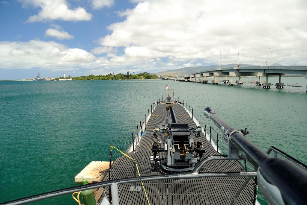 Image de Submarine Memorial près de 'Aiea. museum oahu submarine pearlharbor honolulu bowfin ussbowfin