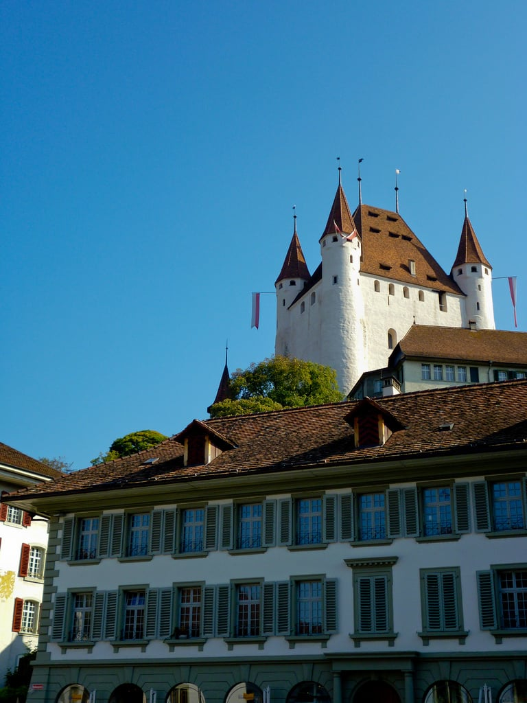 Image of Schloss Thun. switzerland thun