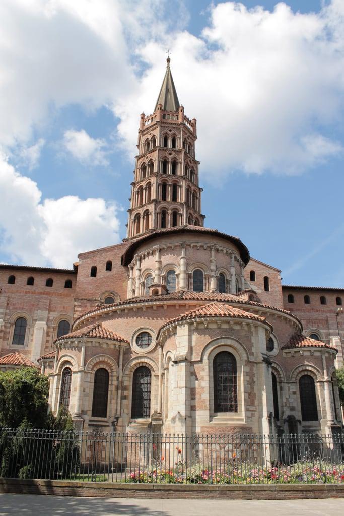 Image of Basilique Saint-Sernin. france toulouse basiliquesaintsernin 07290815summervacation 0809toulouse