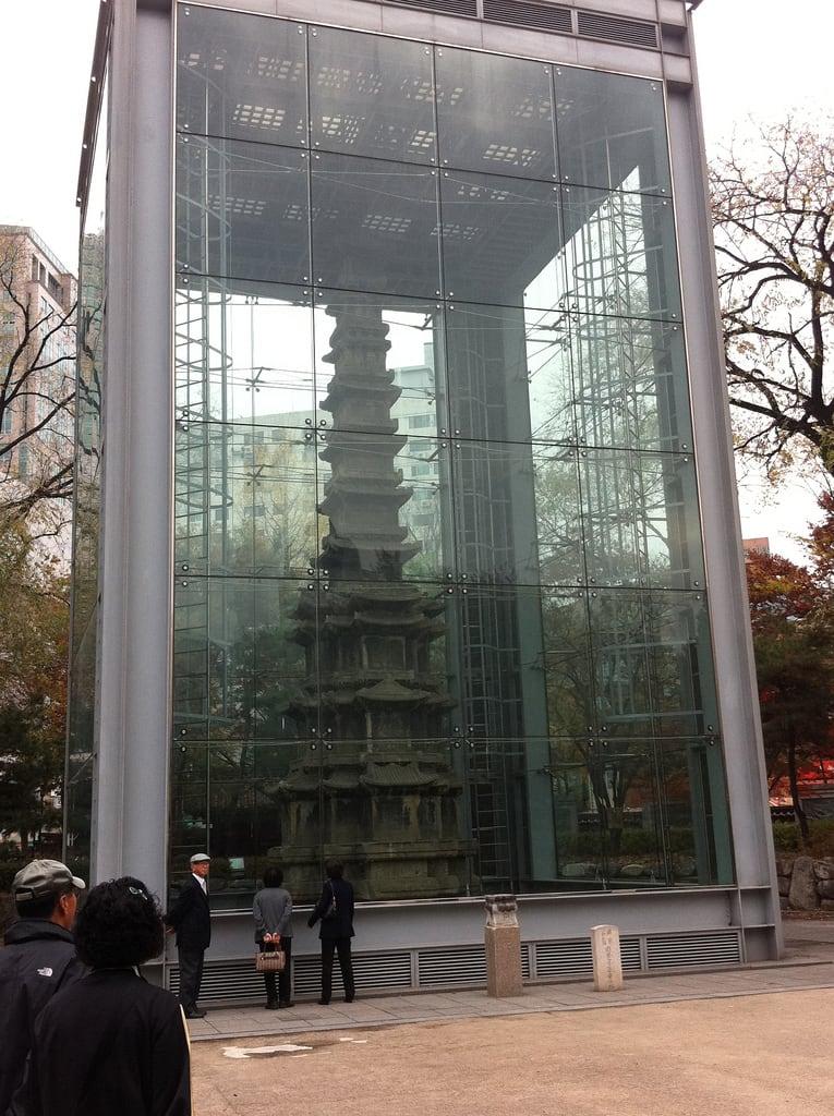 Εικόνα από Wongaksa Pagoda. park korea seoul jongno 종로구 탑골공원 원각사지십층석탑 tapkol tapkolpark