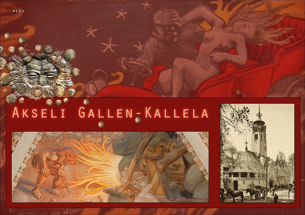 Image of Akseli Gallen Kallela. gallenkallela finlande akseligallenkallela dalbera