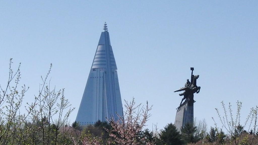 Image of Chollima Statue. northkorea pyongyang 平壤 севернаякорея пхеньян بيونغيانغ pjöngjang 평양