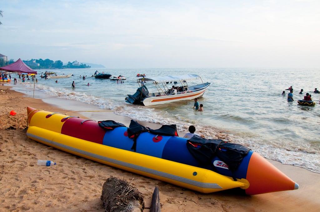 Pantai Teluk Kemang Teluk Kemang Beach képe. color beach