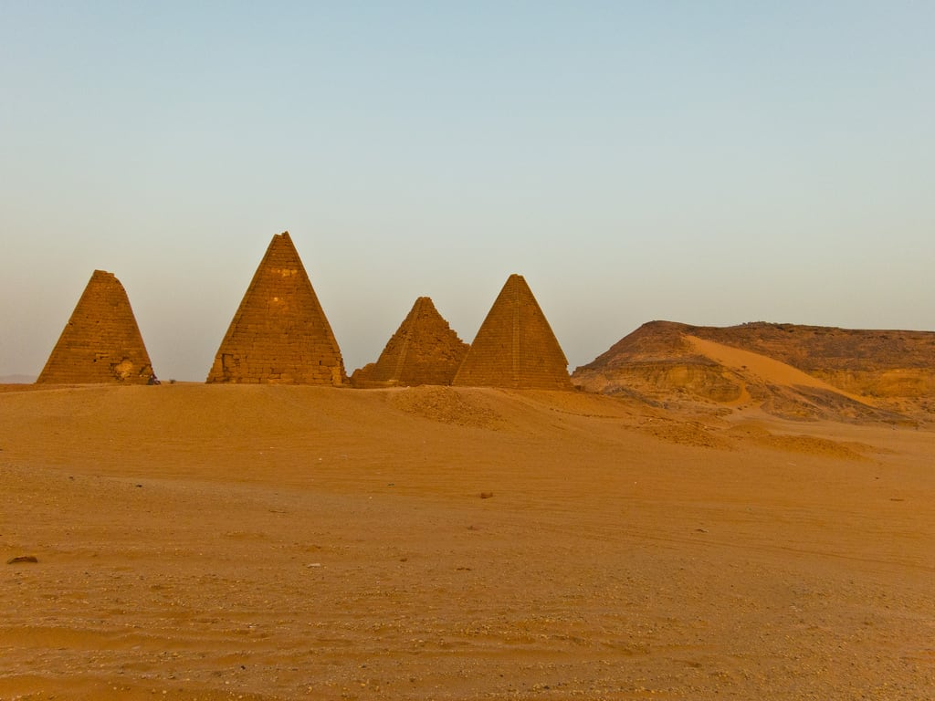Image of Pyramids of Jebel Barkal. canon sudan karima s100 markfischer fischerfotos
