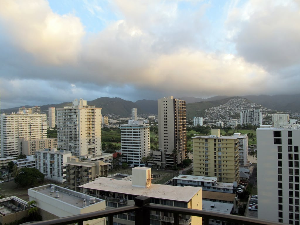 Image de Ala Wai Golf Course. winter usa hawaii waikiki honolulu 2012