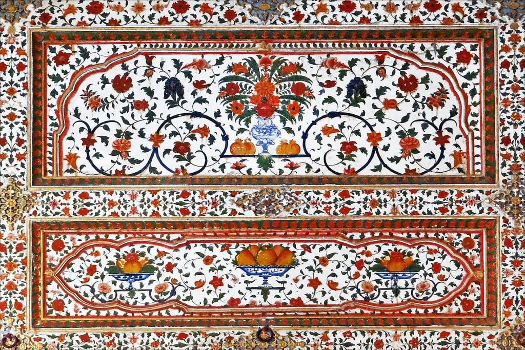 Billede af Junagarh Fort. bikaner rajasthan inde dalbera fortjunagarh