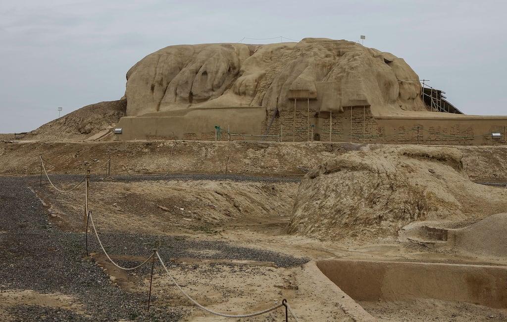 Image of Tepe Sialk. iran kashan sialk tepesialk tappehyeseyalk