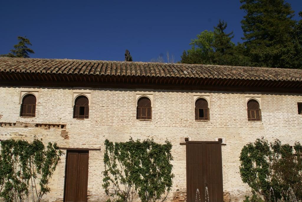 Image of Generalife Palace near Granada. españa geotagged andalucía spain palace andalucia alhambra granada andalusia generalife palacio generalifepalace palaciodelgeneralife geo:lat=37178072 geo:lon=3585733