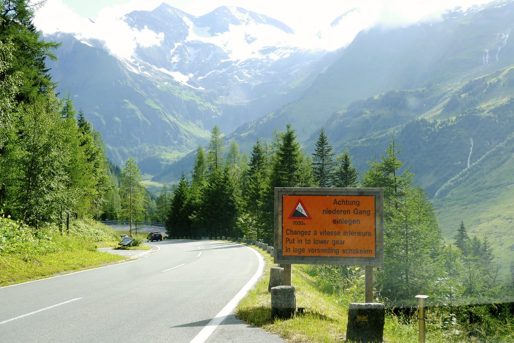 Obraz Grossglockner High Alpine Road. alps grossglockner grossglocknerhighalpineroad