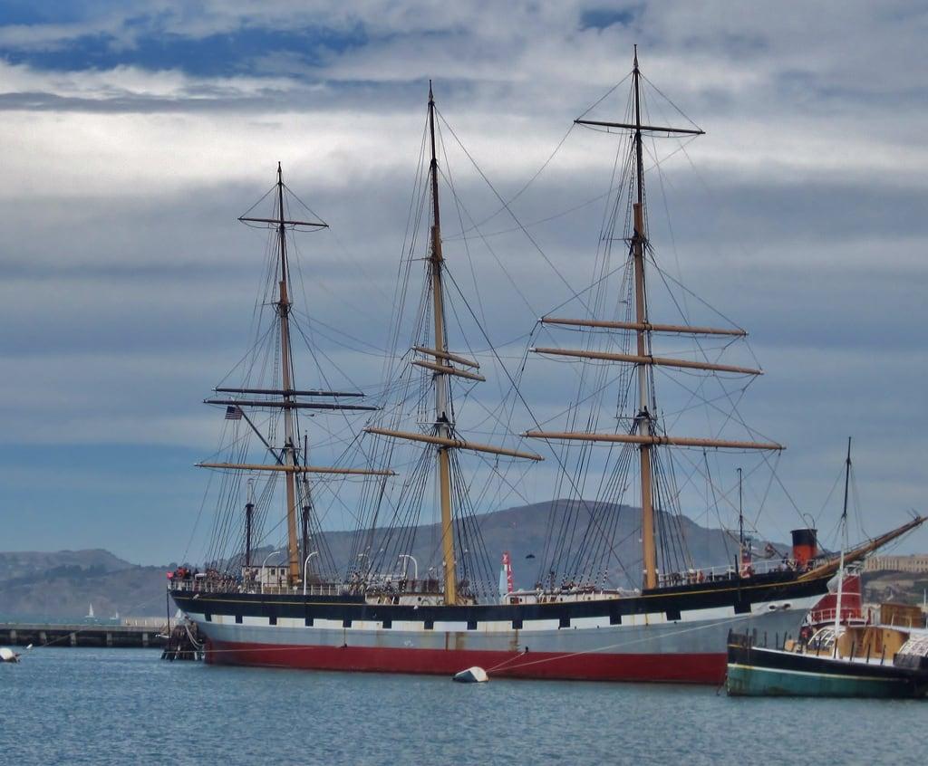 Bilde av Balclutha. sanfrancisco california ship nationalhistoricalpark 1880s fullriggedship charlesconnellcompany