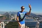 Zdjęcie:   Brazylia  Rio de Janeiro  Copacabana  (selfie, rio de janeiro, sugarloaf)