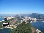 Zdjęcie:   Brazylia  Rio de Janeiro  Copacabana  (rio, widok z góry głowa cukru, wspaniałe)