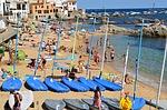 Zdjęcie:   Hiszpania  Costa Brava  Santa Susana  (łodzie, żaglówka, morza)