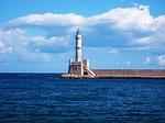 Zdjęcie:   Grecja  Kreta  Heraklion  (latarnia morska, morza, grecja)