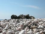 Zdjęcie:   Grecja  Lefkada  (plaża żwirowa, lefkada, grecja)