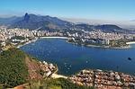 Zdjęcie:   Brazylia  Rio de Janeiro  (widok na sugar loaf, widoki z corcovado, rio)