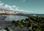 Zdjęcie:   Hiszpania  Wyspy Kanaryjskie  Lanzarote  Playa Blanca  (teneryfa, krajobraz, kamienie)