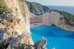 Zdjęcie:   Grecja  Zakynthos  Tsilivi  (zatoka, navagio, navagio bay)